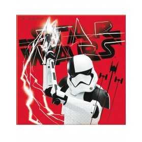20 serviettes Star wars 8 The Last Jedi 33 x 33 cm