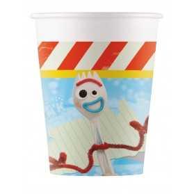8 Gobelets en carton Toy Story 4 200 ml