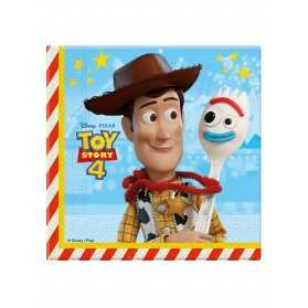 20 Serviettes en papier Toy Story 4 33 x 33 cm