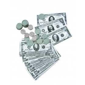 Kit dollars billets et pièces