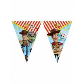 Guirlande 9 fanions Toy Story 4 2,3 m