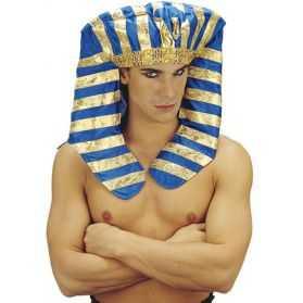 Coiffe de Pharaon à rayures
