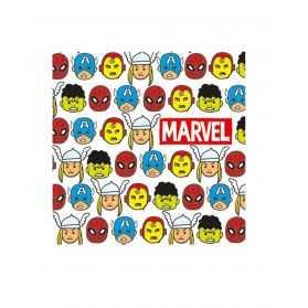 Serviettes en papier personnages Avengers