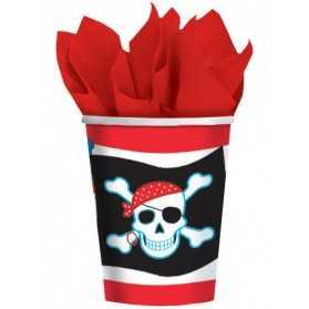 Gobelets thème Pirate