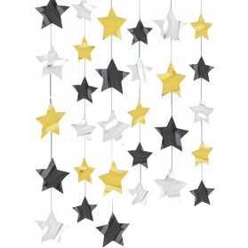 déco de stars pour un anniversaire