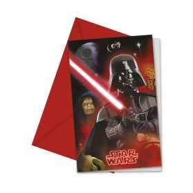 Cartes invitations Dark Vador