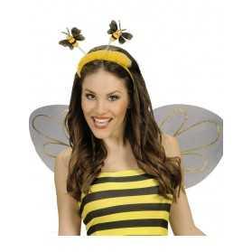 Serre-téte abeille avec fourrure adulte