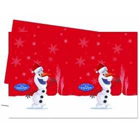 Nappe en plastique Olaf Christmas 120 x 180 cm