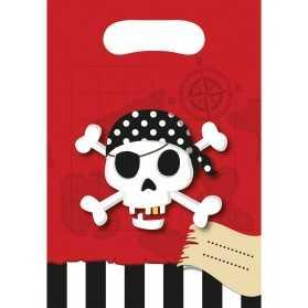 Sachets pour bonbons thème Pirate