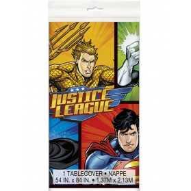 Nappe plastique Justice League 137 x 213 cm