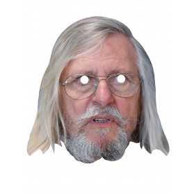 Masque en carton Dr Raoult