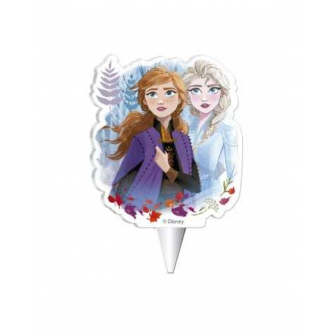 Bougie d'anniversaire La Reine des Neiges 2 7,5 cm