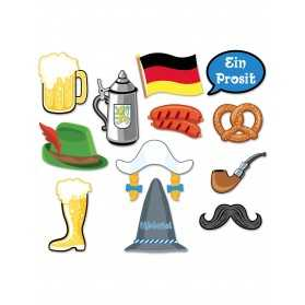 Kit photobooth Oktoberfest 12 accessoires