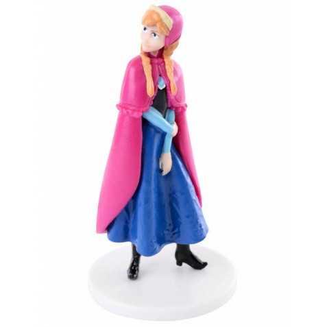 Figurine en plastique La Reine des Neiges Anna 8 cm