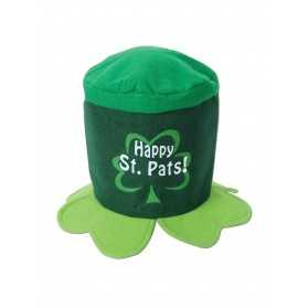 Chapeau trèfles Happy Saint Patrick Day adulte