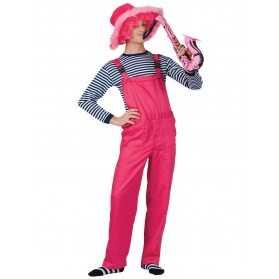 salopette de clown femme