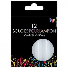 Boite de 12 Bougies lampions