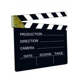 Clap de Cinéma noir et blanc
