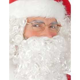 Lunettes de Père Noel sans verre