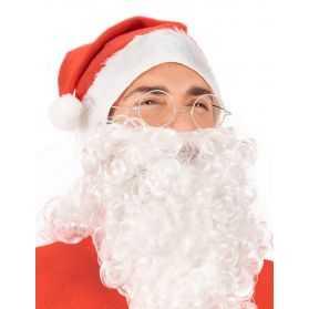 Lunettes déguisement Père Noel