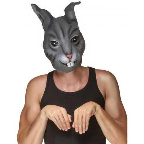Masque latex lapin adulte