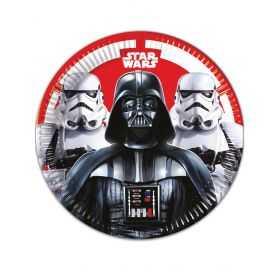 Assiettes en carton Star Wars