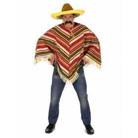 Poncho Mexicain coloré homme
