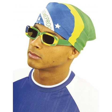 Bandana avec motif du drapeau Brésilien