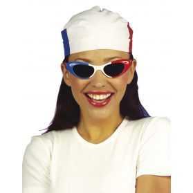 Bandana avec motif du drapeau Français