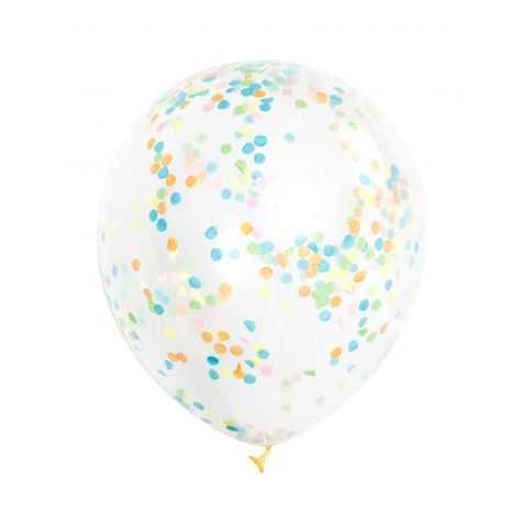Ballons gonflables avec Confettis