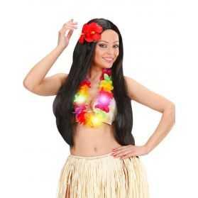 1 Collier Hawaïen lumineux avec led
