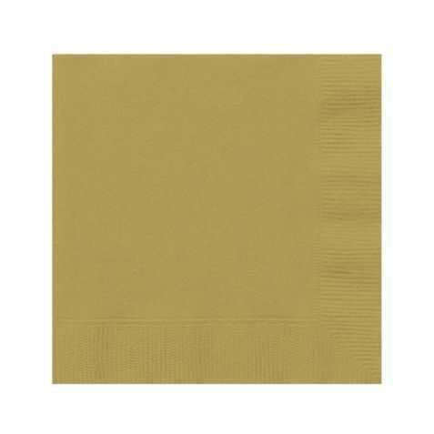 serviettes en papier dorées pas chères
