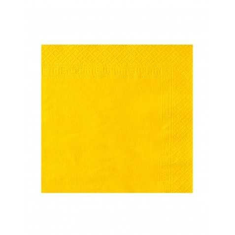 50 Grandes Serviettes couleur unie