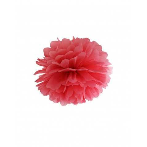 boule en papier soie rouge pas chère