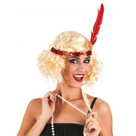 Perruque danseuse de Charleston