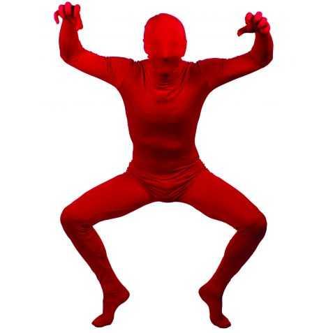 Combinaison Morphsuit rouge