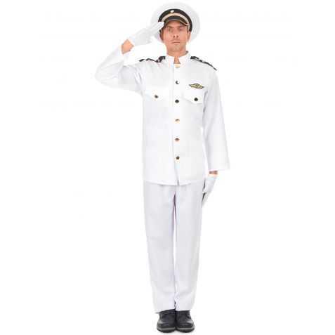 Déguisement uniforme de la Navy