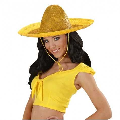 Sombrero en paille