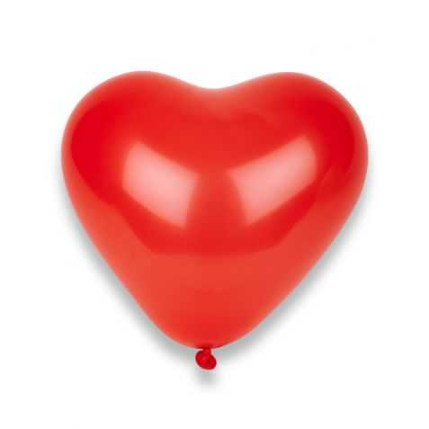 Ballons latex en forme de coeur
