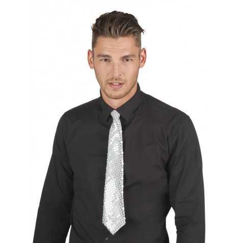 Cravate pailletée