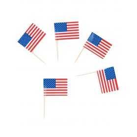 Pics apéritif avec drapeau des Etats-Unis