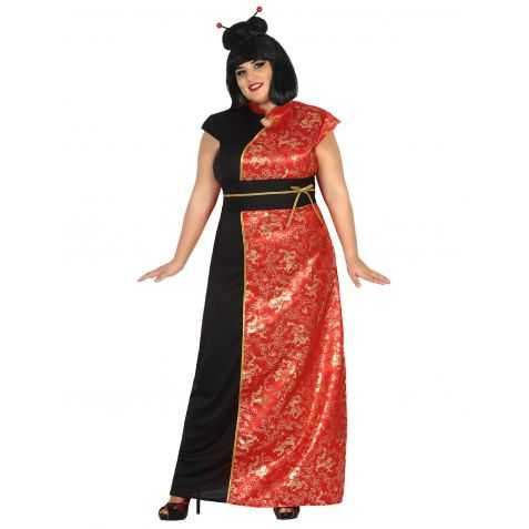 Robe déguisement chinoise adulte