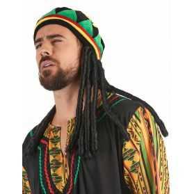 Bonnet déguisement Jamaïcain