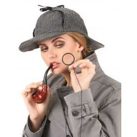 Coiffe Détective pour se déguiser en Sherlock Holmes