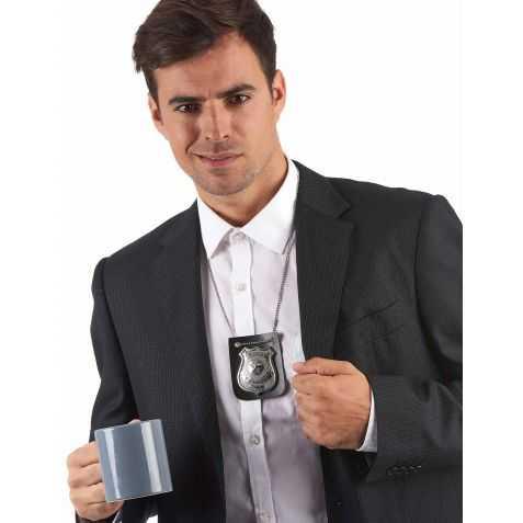 Badge Officier de Police en métal qui permet de frimer un peu aussi