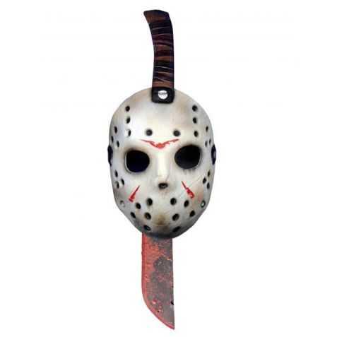 Kit licence Jason masque et machette
