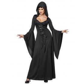 Robe noire de Sorcière adulte