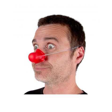 Nez rouge Bozo le clown