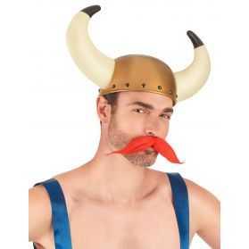 Casque Viking avec cornes
