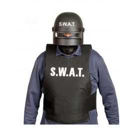 Casquette Police avec visière de protection